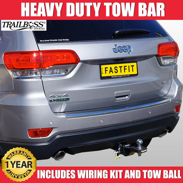 TrailBoss Heavy Duty Tow Bar To Suit Jeep Grand Cherokee WK - 07/2014 ON