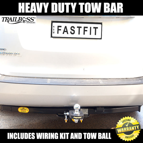 TrailBoss Heavy Duty Towbar To Suit Kia Grand Carnival People Mover 01/2006 ON