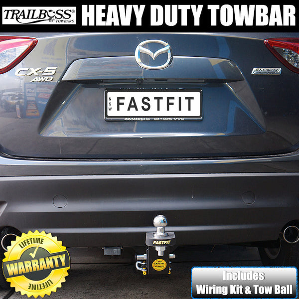 Trailboss Heavy Duty Tow Bar to suit Mazda CX5 Wagon 02/2012-01/2017