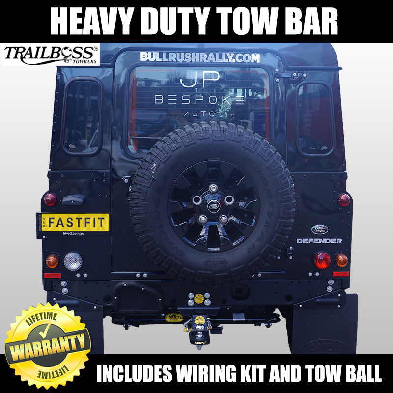 Trailboss Heavy Duty Towbar To Suit Land Rover Defender 90