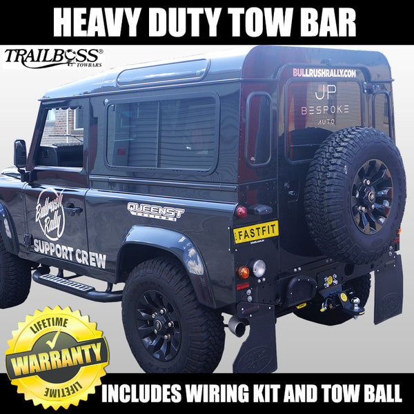 TrailBoss Heavy Duty Towbar To Suit Land Rover Defender 90 MWB With Step  - 09/2010 ON