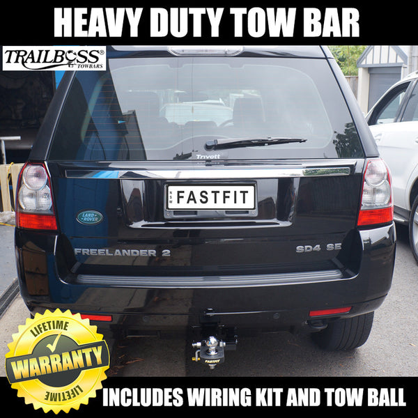 TrailBoss Heavy Duty Tow Bar To Suit Land Rover Freelander II - 10/2007 ON