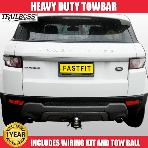 TrailBoss Heavy Duty Tow Bar To Suit Land Rover Range Rover - 10/2011 ON