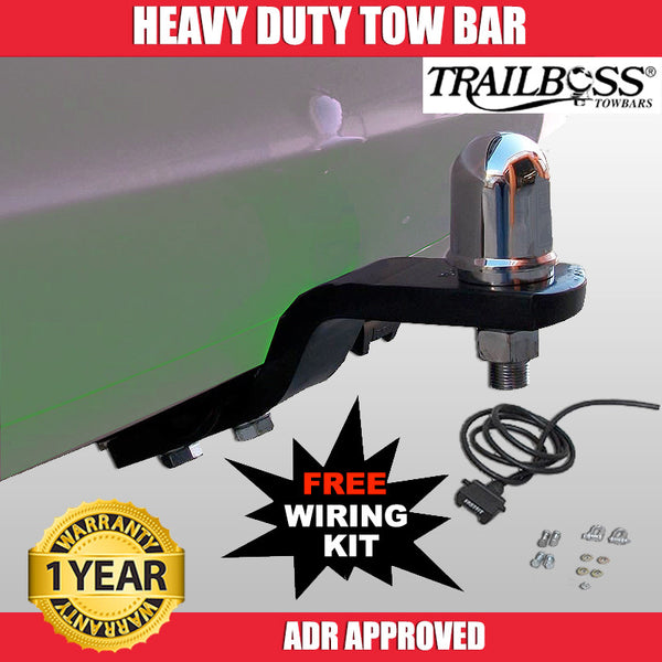 TrailBoss Heavy Duty Tow Bar To Suit Volvo S40 - 04/2004 To 12/2009
