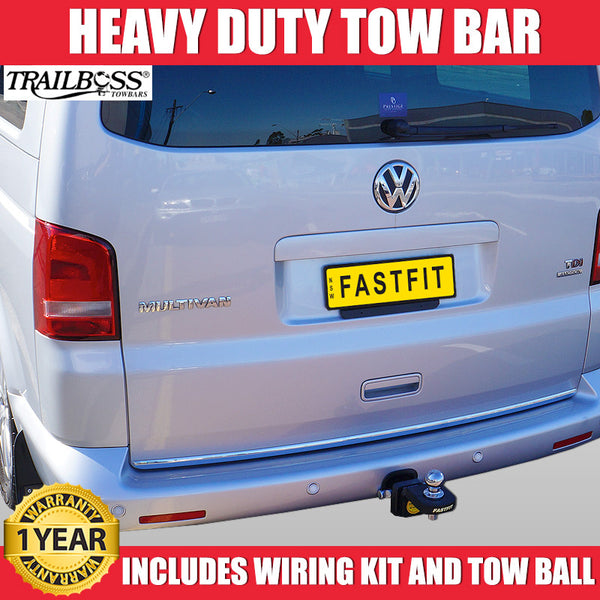 TrailBoss Heavy Duty Tow Bar To Suit Volkswagon Transporter T5 - 01/2010 ON