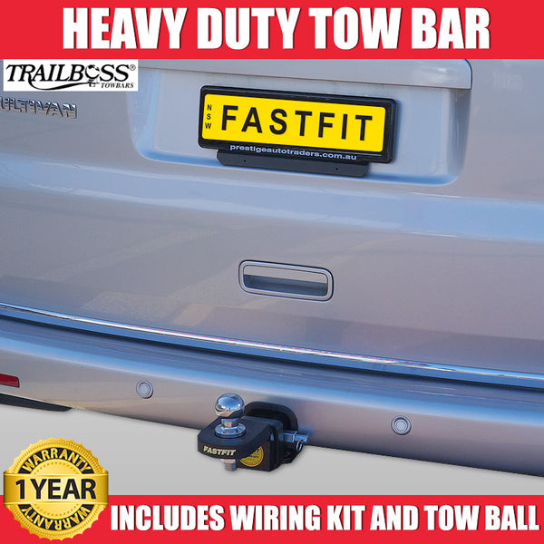 TrailBoss Heavy Duty Tow Bar To Suit Volkswagon  MultiVan - 01/2011 ON