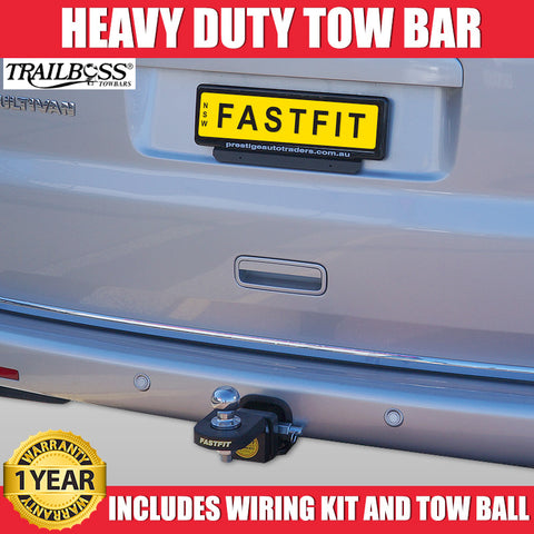 TrailBoss Heavy Duty Tow Bar To Suit Volkswagon Caravelle - 01/2010 ON