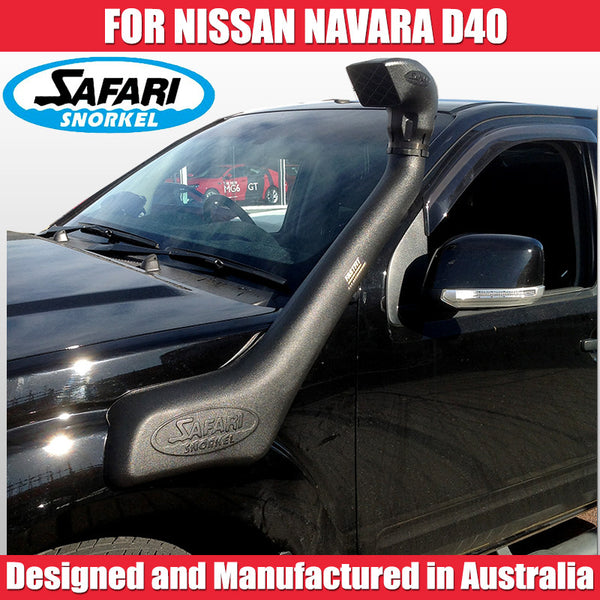 Safari Snorkel To Suit Nissan Navara D40 - 2011 ON Africa-Spain STX