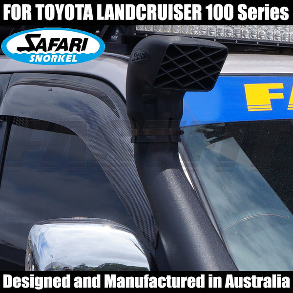 Safari Snorkel To Suit Toyota Landcruiser 100 Series - 04/1998 - 09/2007 All Engines