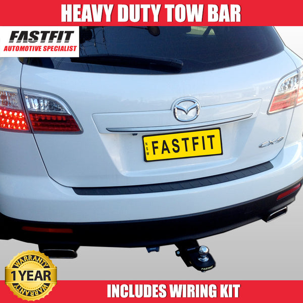 FastFit Heavy Duty Tow Bar To Suit Mazda CX9 - 12/2007 ON
