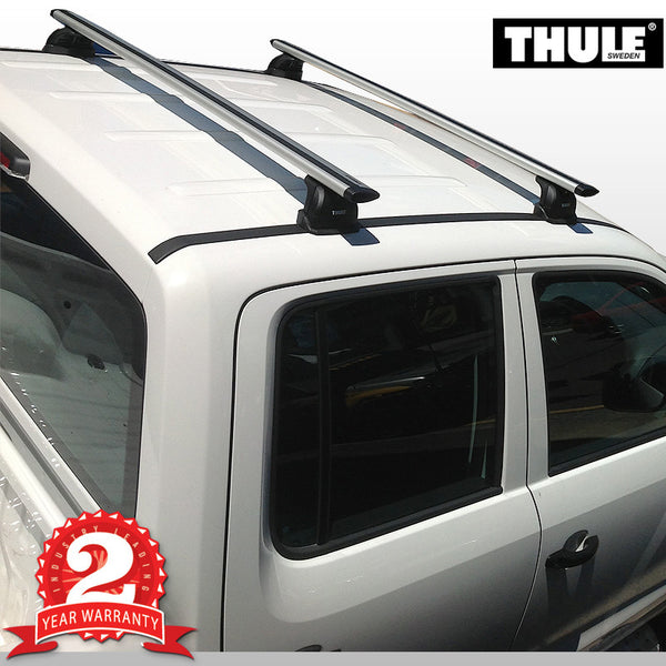 Thule AeroBar Roof Racks To Suit Volkswagon Amarok - 2010 ON