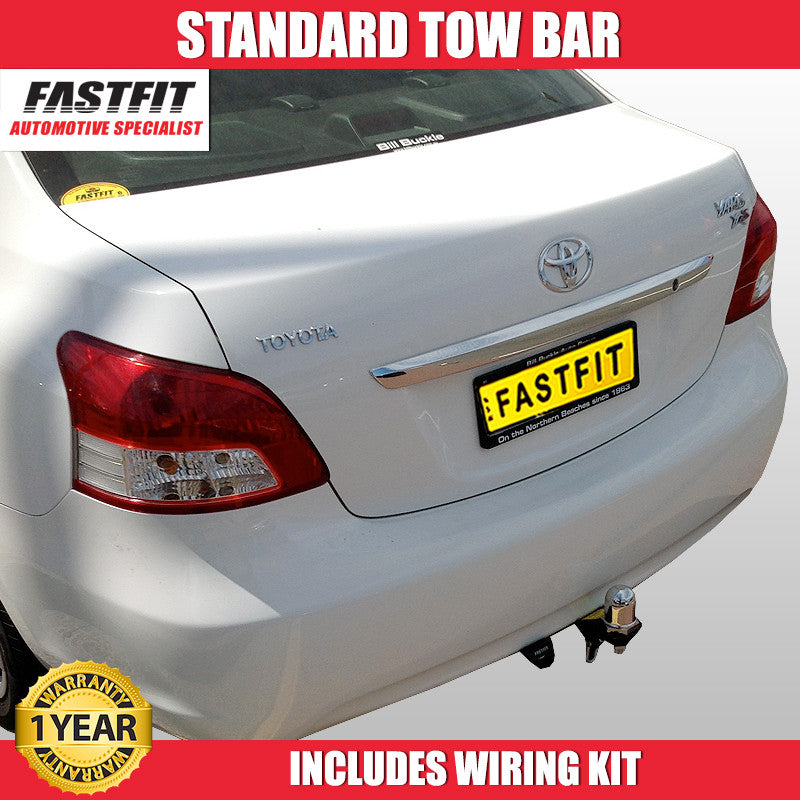 Fastfit Standard Tow Bar To Suit Totoya Yaris Hatch 11