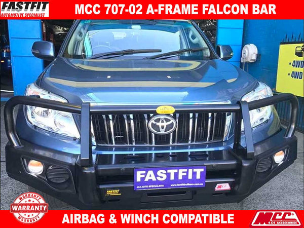 MCC 707-02 A-Frame Falcon Bar with Under Protection to suit Toyota Land Cruiser Prado 150s 11/2009-2017