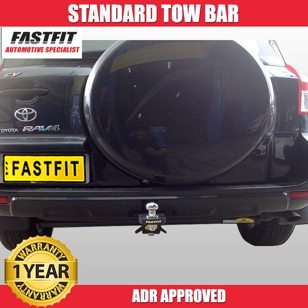 FastFit Standard Tow Bar To Suit Toyota RAV4 AWD 5 Door -  02/2006 To 01/2013