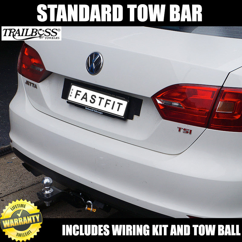 Trailboss Standard Towbar To Suit Volkswagen Jetta Sedan