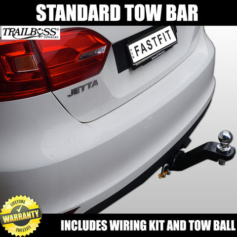 TrailBoss Standard Towbar To Suit Volkswagen Jetta Sedan 07/2011 ON
