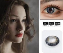 Load image into Gallery viewer, 1 Pair(2pcs)  IRIS Series  Coloured  Contact Lenses for Dark Eyes