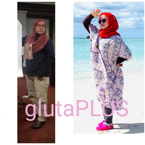 HALAL GLUTAPLUS PRO Whey Protein Beauty Slimming Fat burning Whitening Appetite Control Suplement