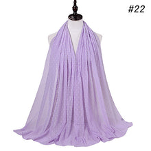 Load image into Gallery viewer, 10 pc/lot Solid 3D Bubble Chiffon Shawl