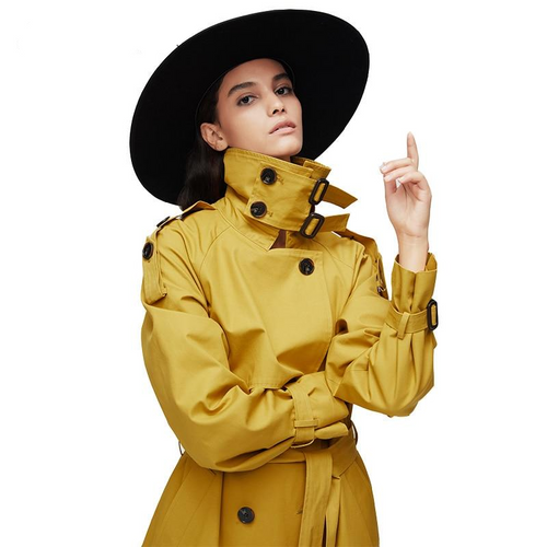 Haute Couture Long Trench coat Outerwear