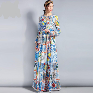 Designer Runway Maxi Plus size Long Dress