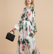 Load image into Gallery viewer, Runway Maxi Dresses Rose Long Dress Plus Size Available