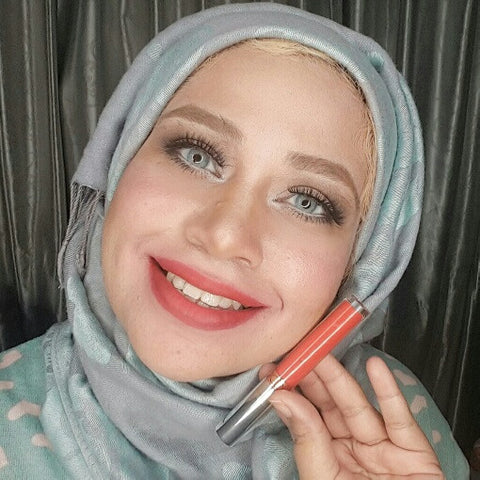 Halal Advance Matte Lip Color Liquid Lipstick  by Zaharah Cosmetics