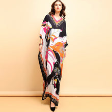Load image into Gallery viewer, Designer Runway Royalty Kaftan Dress Plus Size Available