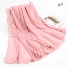 Load image into Gallery viewer, 10 pcs/lot Wide Bubble Chiffon Shawl