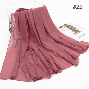 10 pcs/lot Wide Bubble Chiffon Shawl