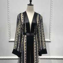 Load image into Gallery viewer, Shidah Elegant Abaya Cardigan