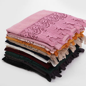 10 PCS/LOT Embroidery Lace shawls