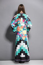Load image into Gallery viewer, Dolce Gabanna Inspired Runway Kaftan