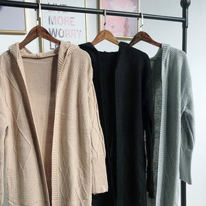 Knitted Cardigan Outerwear
