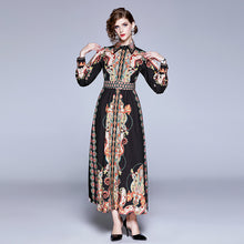 Load image into Gallery viewer, Runway Fluer Maxi Long Dress
