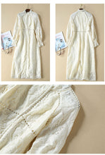 Load image into Gallery viewer, Royal Gold Victorian Vintage Runway Tunic Midi Dress