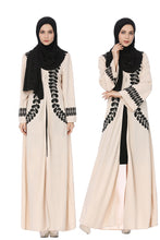 Load image into Gallery viewer, Luxurious Arabic Abaya Outerwear