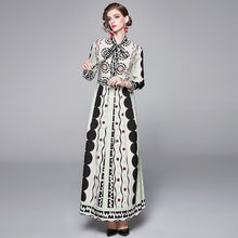Load image into Gallery viewer, Runway Vintage Maxi Long Dress