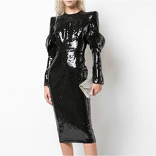 Load image into Gallery viewer, 2020 Full Sequin Runway Dress