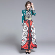 Load image into Gallery viewer, Runway Charming Floral Maxi Long Dresses