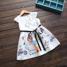 Load image into Gallery viewer, Girls Kids Scribble Dress