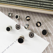 Load image into Gallery viewer, Channel Inspired 10pcs/lot Imitation Pearl Circle Brooch Pins Accessories