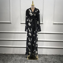 Load image into Gallery viewer, Floral Abaya Kimono