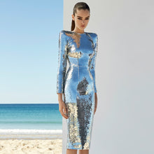 Load image into Gallery viewer, Full Sequin Runway Dress 2020