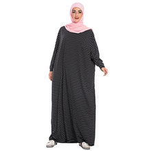 Load image into Gallery viewer, Giveea Oversized Batwing Modest Dress