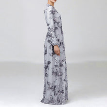 Load image into Gallery viewer, Maniqah Sequined Modest Dress