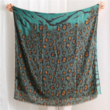 Load image into Gallery viewer, Lurex Glitter Leopard Patchwork Wide Shawl Hijab