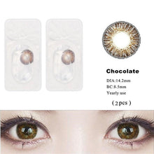 Load image into Gallery viewer, 3 Tone Cosmetic Brilliant Colored Contact Lens