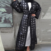 Load image into Gallery viewer, Wainyta Textured Modern Abaya Cardigan