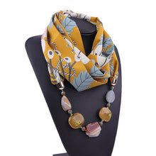 Load image into Gallery viewer, Jewelled Hijab Loop Shawl